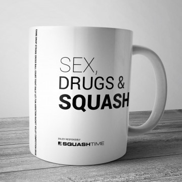 Kubek Sex Drugs & Squash